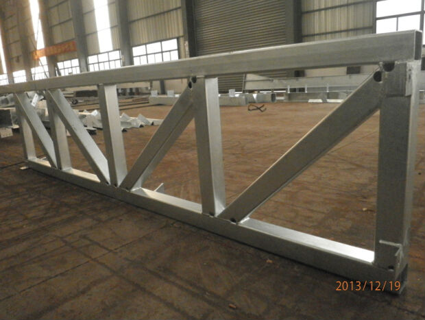 Easy install light weight steel roof truss for warehouse for Roof trusses installation