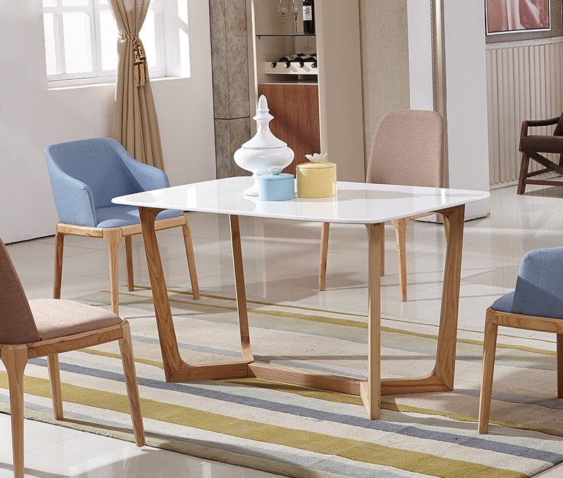 2017 nuevo modelo de alta calidad moderna mesa de comedor de m rmol de madera con patas de - Mesa alta comedor ...