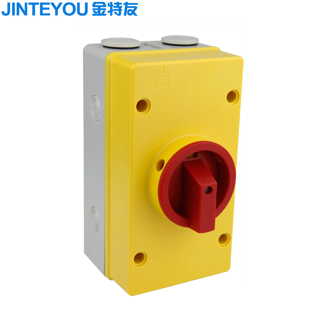 IP66 Weather Protected Lockable AC Isolator Switch