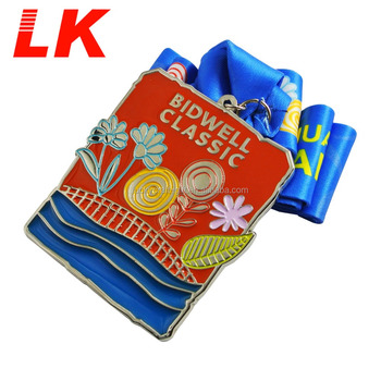 High quality cheap custom swimming sports medals low minimum order