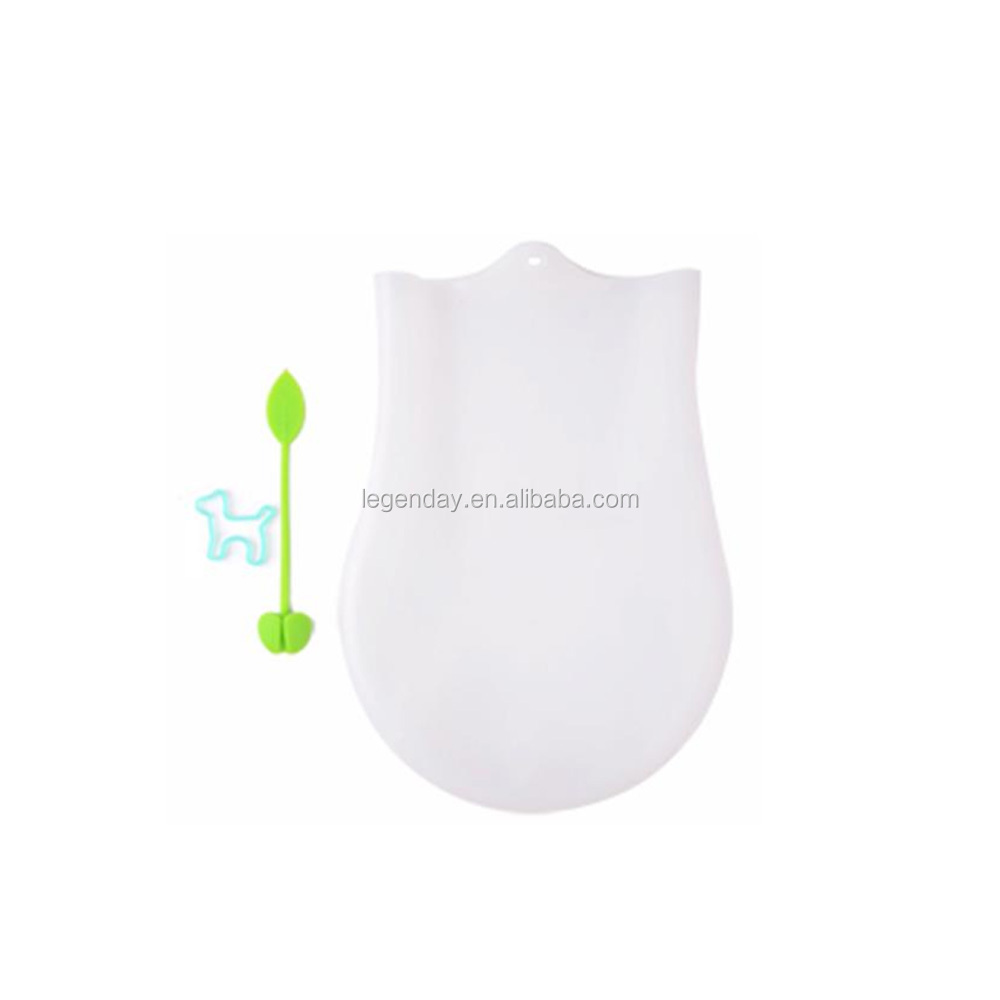 Eco-friendly not sticky silicone kneading dough bag