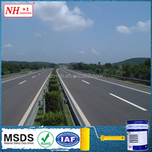 Yellow thermoplastic reflective cement road marking paint