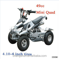 Chinese mini quad bike 49cc atv with shokc absorber for kids