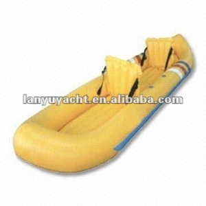 2014 CE pvc inflatable water canoe