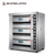 China Industrial Double Deck Bread Oven Electric Bakery