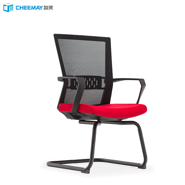 ergonomic visitor plastic office conference room chairs