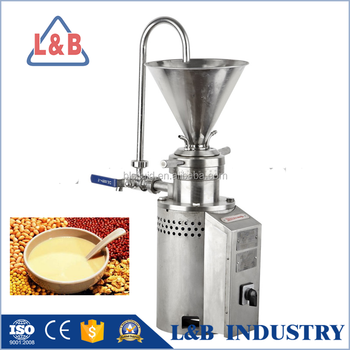 Vertical Small Colloid mills 2800rpm Corn Milk Making Machine