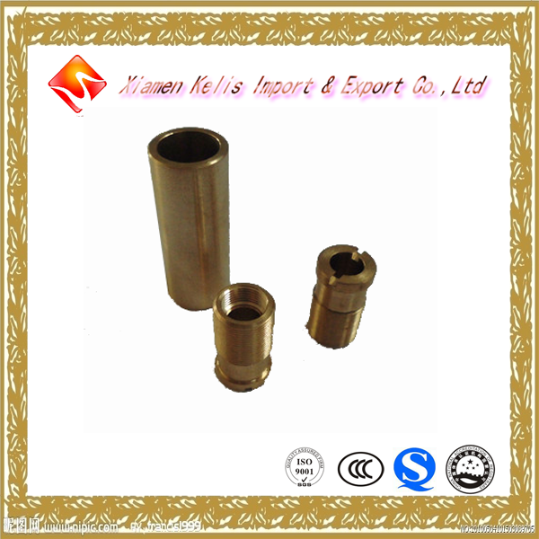 Hardware products in Xiamen metal brass CNC machining parts for LDG bulb