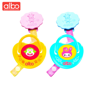 albo brand food grade High quality heart shape funny pacifier set ,100% BPA silicone adult baby pacifier with clip
