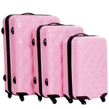 Florid Bling Princess Pink Luggage Sets - Buy Princess Luggage Bag ...
