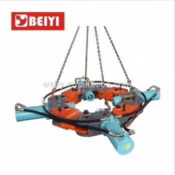 concrete square piles head cutter BY-PB600GD Stationary Hydraulic round pile breaker