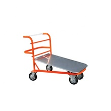 Hand Brake Push Airport Baggage Warehouse Luggage Trolley Cart