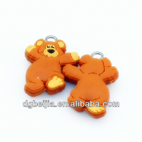 custom kids zipper pulls for bags BJ-ZP031
