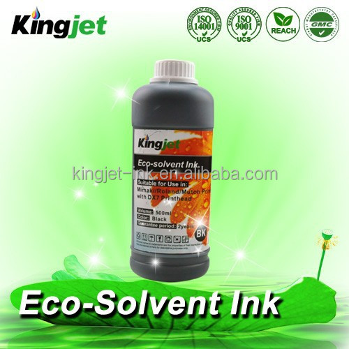 Eco friendly dx5 piezo head inkjet printer eco solvent ink