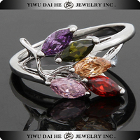 High Quality Wedding Zircon Copper Rings For Men
