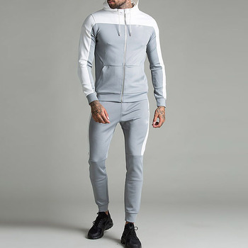 search for newest select for original cheap for discount Mens Slim Fit Designer Sweat Suits Two Tone Zipper Up Cotton Tracksuit -  Buy Cotton Tracksuit,Designer Sweat Suits,Mens Slim Fit Tracksuit Product  on ...