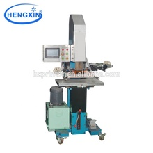 Hydraulische hot stamping machine beroemde <span class=keywords><strong>auto</strong></span> logo folie hot stamping machine