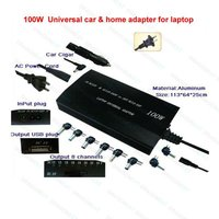 100W Auto Dc Ac Power Regulated Usb Car Home Adapter For Laptop