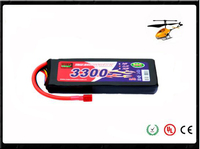 high quality 30C li-ion battery 11.1V 3300mAh UAV racing cars rc battery