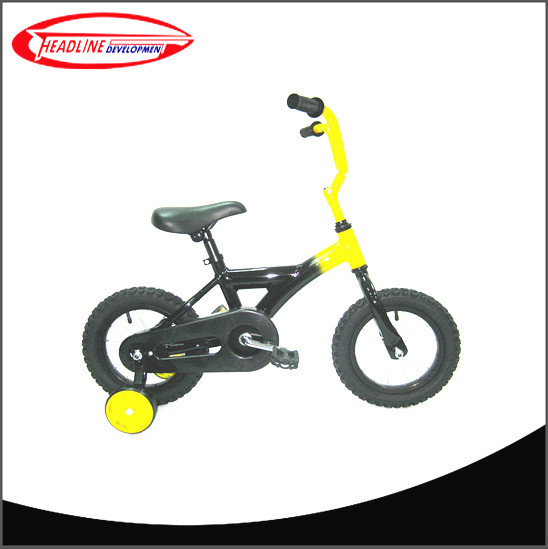 Black/Yellow Kids tricycle for boy