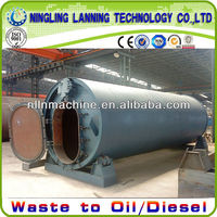 used tire to oil recycling equipment