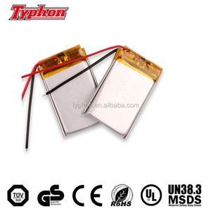 3.7v 400mah li-polymer battery 502535 552535 582535 602535 842535 982535 MP3 MP4 MP5 GPS polymer replacement battery