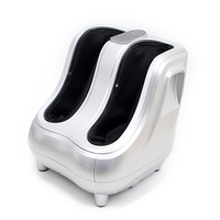 New US Calf Leg Ankle Electric Shiatsu Kneading Rolling Vibration Heating Foot Leg Massager for sale