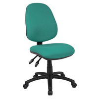 Adjustable High Quality Operator Master Office Typist Chair Without Armrests For Staff
