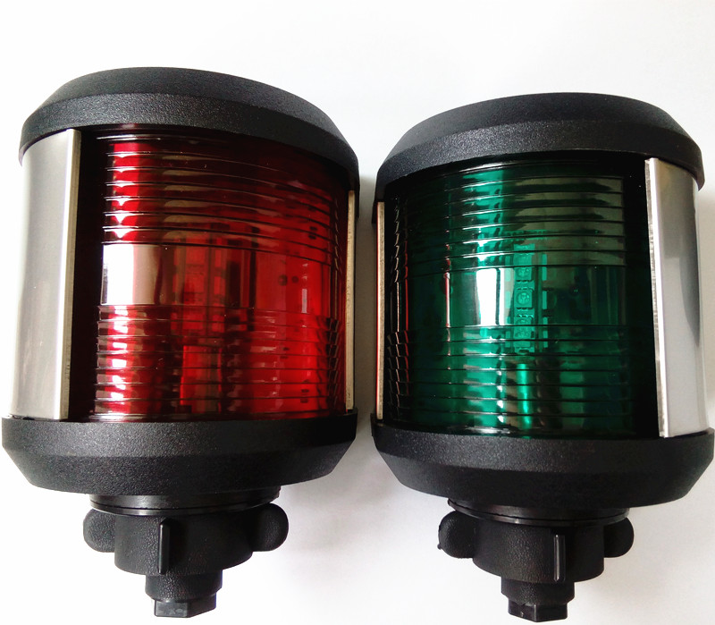 Marine boat yacht Navigation light 12V/24V LED Starboard Port Light 20M