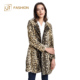 2018 new arrival made in china jtfur leopard faux fur women luxury jacket elegant winter ladies long noble artificial fur coat