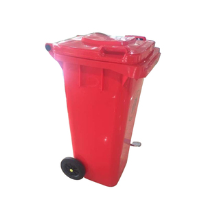 Modern newest design commercial 240 litre plastic wheelie bin trash can with lid price