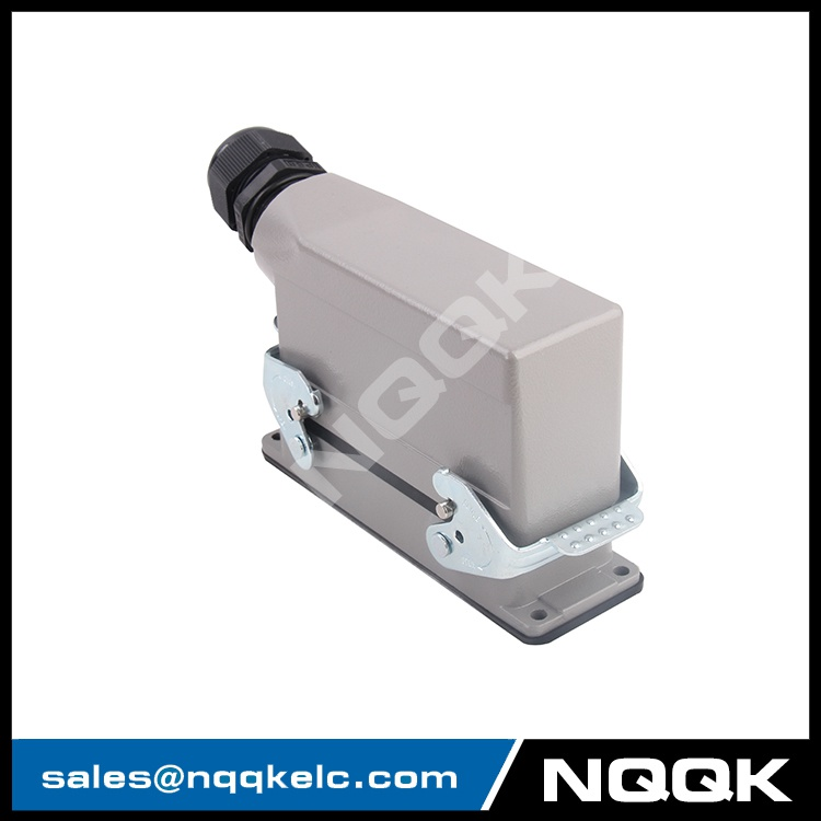 4 24 pin Screw spring crimp terminal Inserts surface mouned heavy duty sockets connector.JPG
