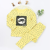 2017 new arrival Cartoon Pattern Clothing Sets For Girls and Boys childrens clothing sets