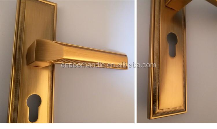 Zinc door handle factory classic design fancy door handles made in china & Zinc Door Handle FactoryClassic Design Fancy Door Handles Made In ...