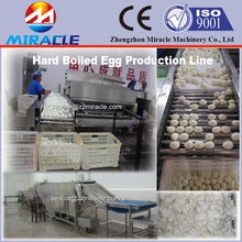 Top sale SUS304 egg boiler and peeling shell machine, egg shell peeling machine price