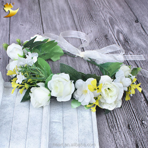 2016 new products artificial plastic flower garland 58184