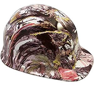 Texas America Safety Company America Flag Camo Cap Style Hydro Dipped Hard Hat