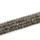 Labradorite Stone High Technology Machine Cutlabradorite Wholesale Natural Labradorite Stone Beads 6mm