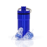 Noise Reduction Reusable Earplugs for Reading, Concert, Musicians, Shooting, Sleeping