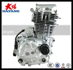1 Cylinder 4 Stroke Air Cooled Lifan 150cc Motorcycle Accessories Of Engine