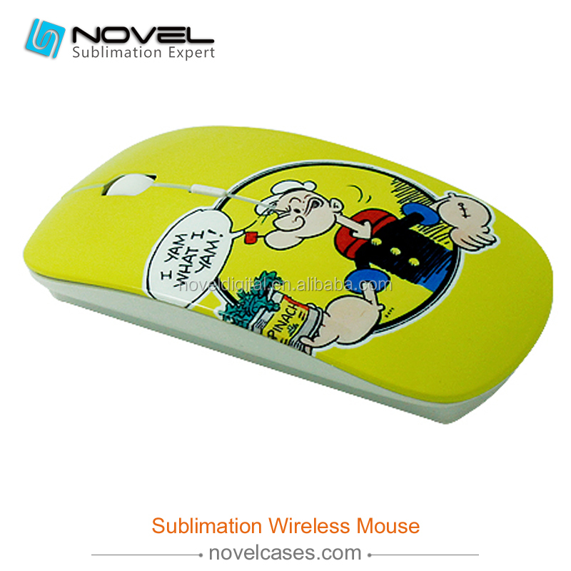 Personalized Cheap 3D Sublimation Wireless Mouse