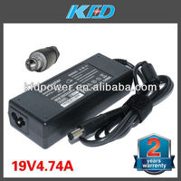for Hp laptop charger 19V 4.74A Pavilion DV9000 DV8000 DV6000 90W power adapter