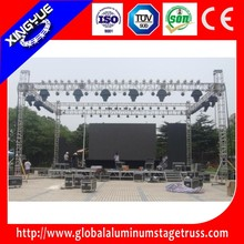 outdoor triangular performance aluminum roof truss
