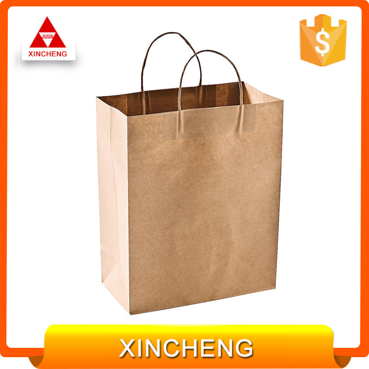 OEM customized recyclable logo printing paper package with low cost