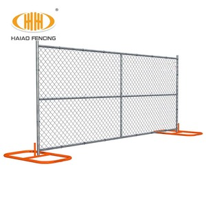 Rough used temporary fence barrier pool fence expandable barrier with gate