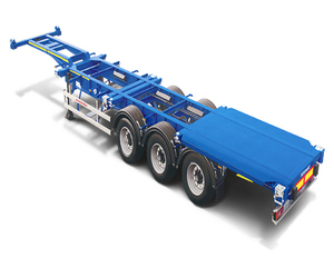 tractor truck used container trailer chassis sale
