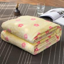 Fashion Flower Design Soft Flannel Fleece Wholesale Bed Sheet