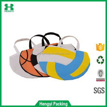 hot sale style nonwoven football handle shopping bag and cute Mini shop bags