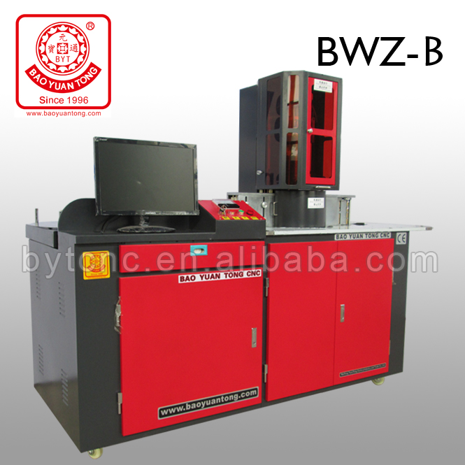 BYTCNC sign board channel letter bending system for led With CE and ISO9001
