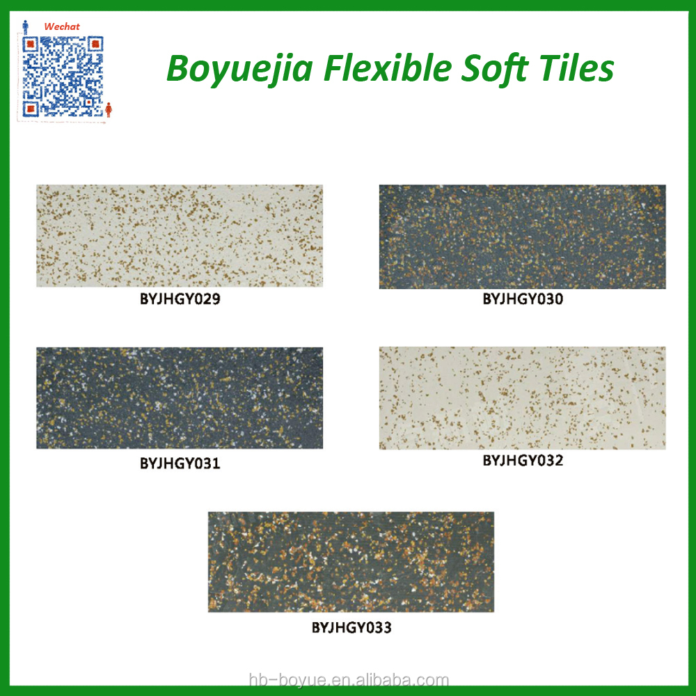 Outside inside building granite tiles and marbles design soft flexible tiles price in Philippines